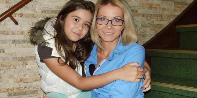 Mutter und Tochter-Sexuelle Aufklärung